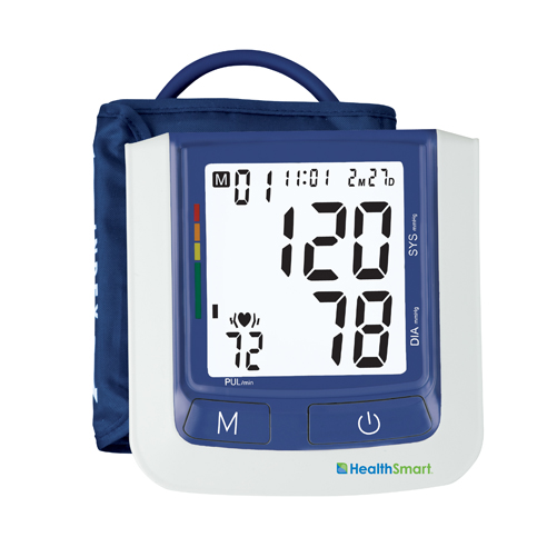 HealthSmart Auto Arm Digital Blood Pressure Monitor With Large Cuff