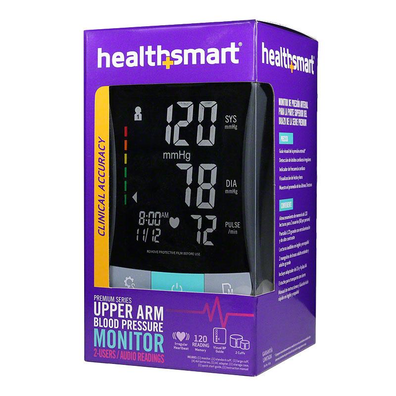 HealthSmart Premium Talking Auto Arm Digital Blood Pressure Monitor