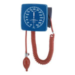 Mabis Legacy Wall-Mounted Clocks Aneroid Sphygmomanometer Blue thumbnail