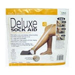 Mabis Deluxe Sock Aid With Terry Cloth Cover 64081400055
