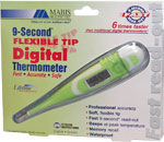 Mabis 9-Second Flexible Digital Thermometer - 15-737-000