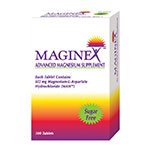 Maginex Magnesium Tablets 100/bx
