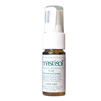 Ferndale Mastisol Liquid Adhesive Bottle w/Pump Spray 0.5oz 15ml