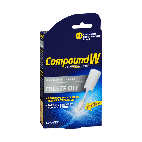 Compound W Maximum Freeze Off Wart Removal System - 8ct