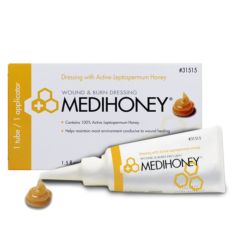 Medihoney Hydrocolloid Wound Paste 1.5oz 31515 - Case of 12