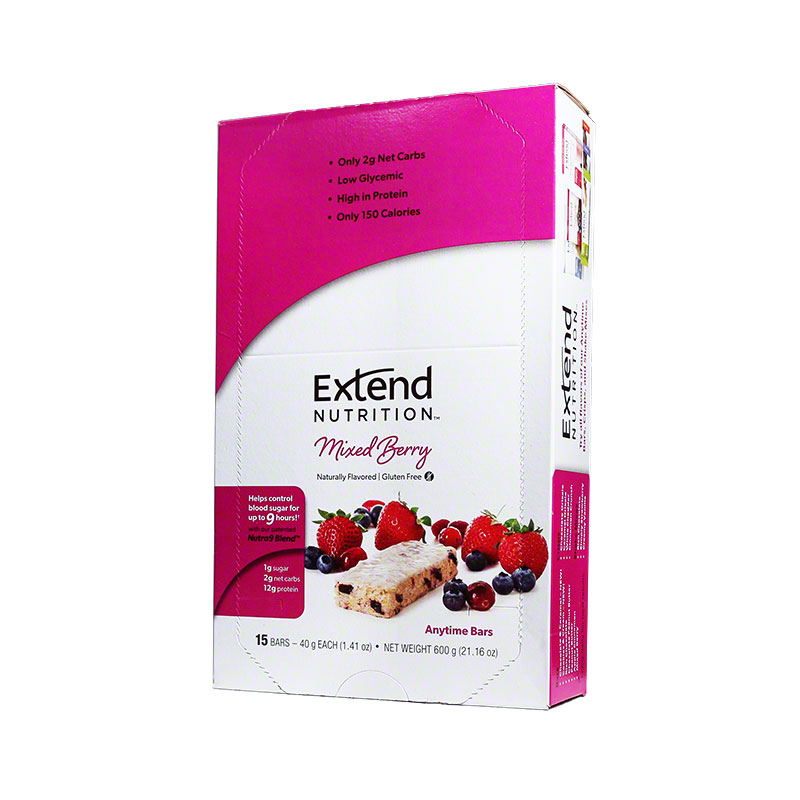 ExtendBar Mixed Berry Delight - Case of 15