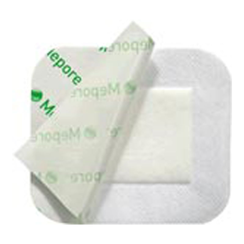 Molnlycke Mepore Adherent Absorbent Dressing 3.6 inch X 4 inch 50/bx 670900
