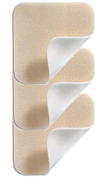 Molnlycke Mepilex Lite Dressing 2.4 inch x 3.4 inch 5/bx 284090 Pack of 6