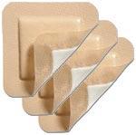 Molnlycke Mepilex Border 6 inch x 8 inch Foam Dressing 5/bx 295600 Pack of 3