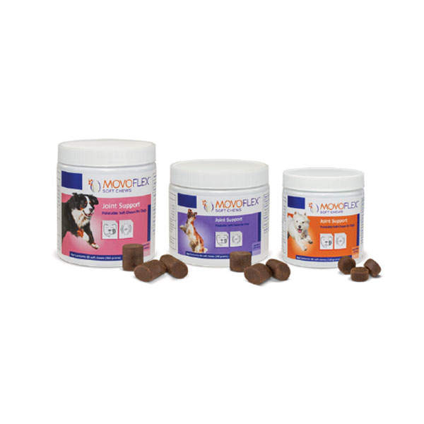 MOVOFLEX Joint Support Soft Chews for Medium Dogs - 60ct