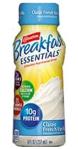 Nestle Carnation Instant Breakfast Essentials French Vanilla