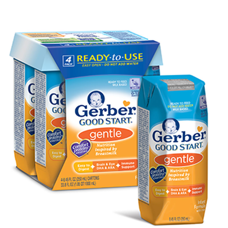Nestle Gerber Good Start Gentle Ready To Feed Formula Pack of 6
