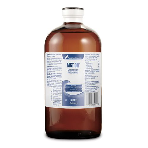 Nestle MCT Unflavored Oil 1qt Case of 6