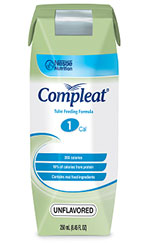 Nestle Compleat Unflavored 250mL Case of 24