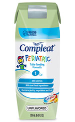 Nestle Compleat Pediatric Unflavored 8oz 24-Case