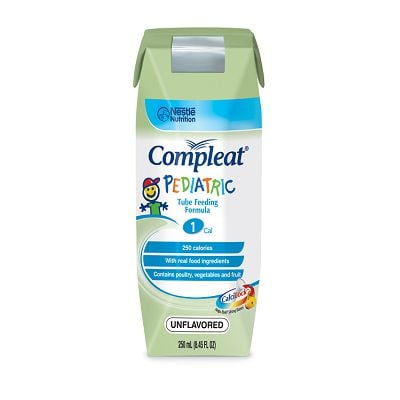 Nestle Compleat Pediatric Unflavored 8oz 6-Pack