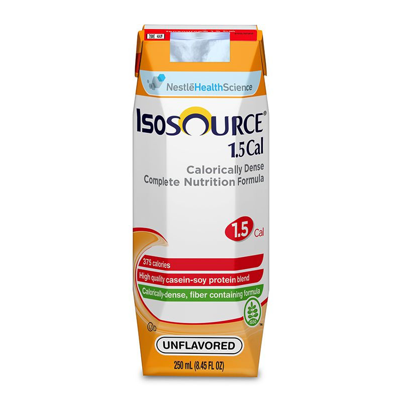 Nestle Isosource 1.5 Cal Vanilla 250mL Case of 24