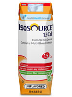 Nestle Isosource 1.5 Cal Unflavored 1000mL Case of 6 thumbnail