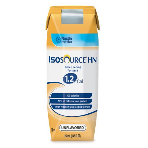 Nestle Isosource HN Unflavored 8oz Can Case of 24