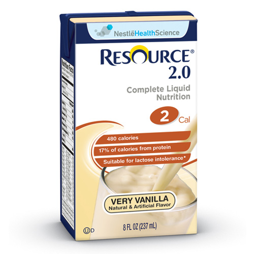 Nestle Resource 2.0 Vanilla 32oz 12-Pack