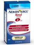 Nestle Novasource Renal Vanilla 8oz 27-Case