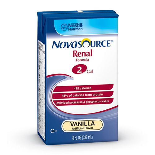 Nestle Novasource Renal Vanilla 8oz