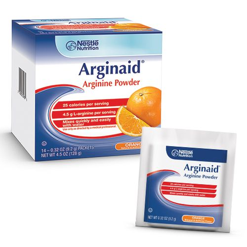 Nestle Arginaid Powder Mix Orange 9.2g Box of 56