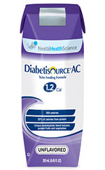 Nestle Diabetisource AC Unflavored 8oz Case of 24 thumbnail