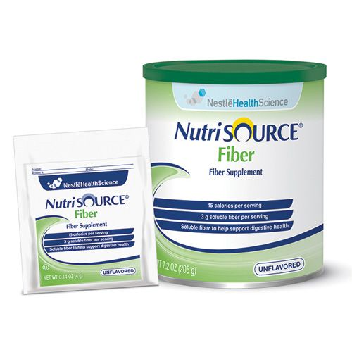 Nestle Nutrisource Fiber Unflavored 7.2oz 4-Pack
