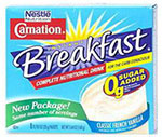 Nestle Carnation Instant Breakfast Carb Conscious Choc 10.6oz 64/bx