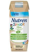 Nestle Nutren Junior w/Fiber Complete Prebio1 Vanilla 250mL Case of 24