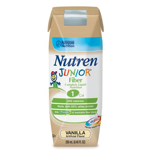 Nestle Nutren Junior with Fiber Complete Prebio1 Vanilla 250mL 6-Pack