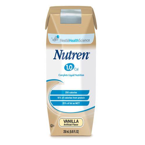 Nestle Nutren 1.0 Vanilla 8oz Case of 24