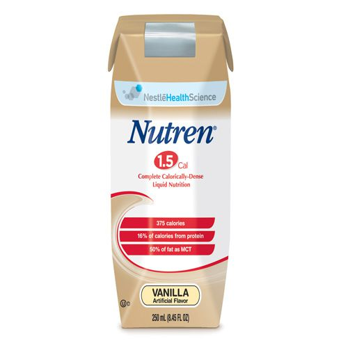 Nestle Nutren 1.5 Vanilla 8oz Case of 24