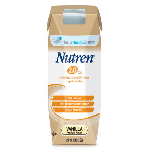 Nestle Nutren 2.0 Vanilla 8oz Case of 24