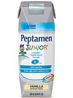 Nestle Peptamen Junior Vanilla 8oz Case of 24 thumbnail