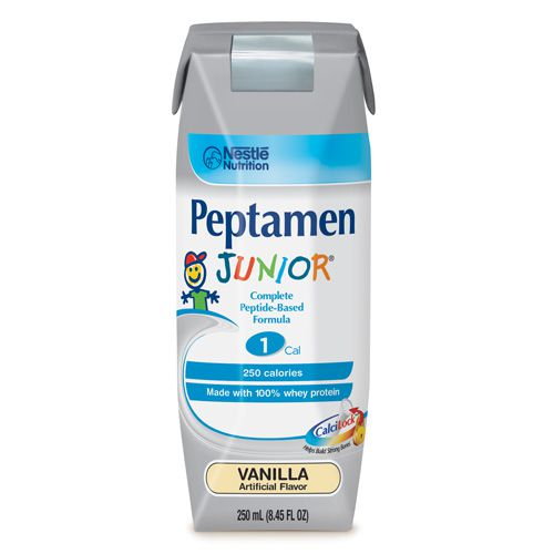 Nestle Peptamen Junior Vanilla 8oz Case of 24
