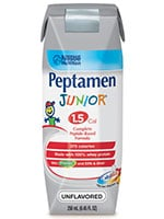Nestle Peptamen Junior 1.5 Unflavored 250mL thumbnail