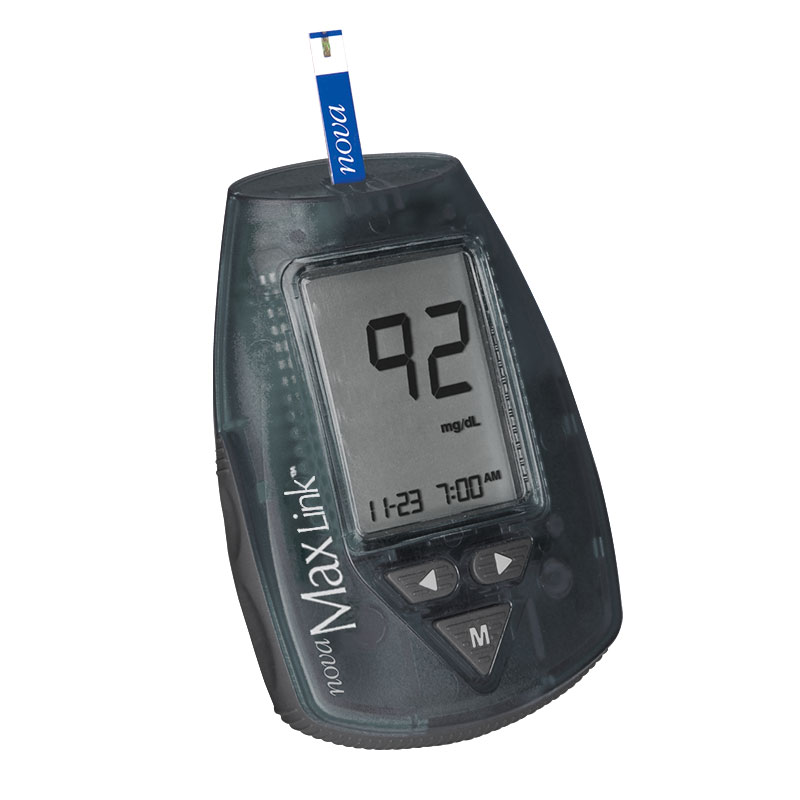 Nova Max Link Blood Glucose Meter Kit