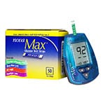 NovaMax Test Strips 50/bx with Meter Kit