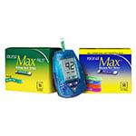 Nova Max Plus Glucose & Ketone Meter Kit, 10 Ketone, 50 Glucose Strips