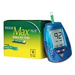 Nova Max Plus Glucose & Ketone Meter Kit With 10 Ketone Strips
