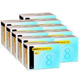 NovoFine Autocover Safety Pen Needles 30G 8mm 100 per Box - Case of 10