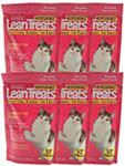 Nutrisentials Lean Treats For Cats 3.5oz Bag Pack of 6