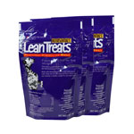 Nutrisentials Lean Treats For Dogs 4oz Bag Pack of 3 thumbnail