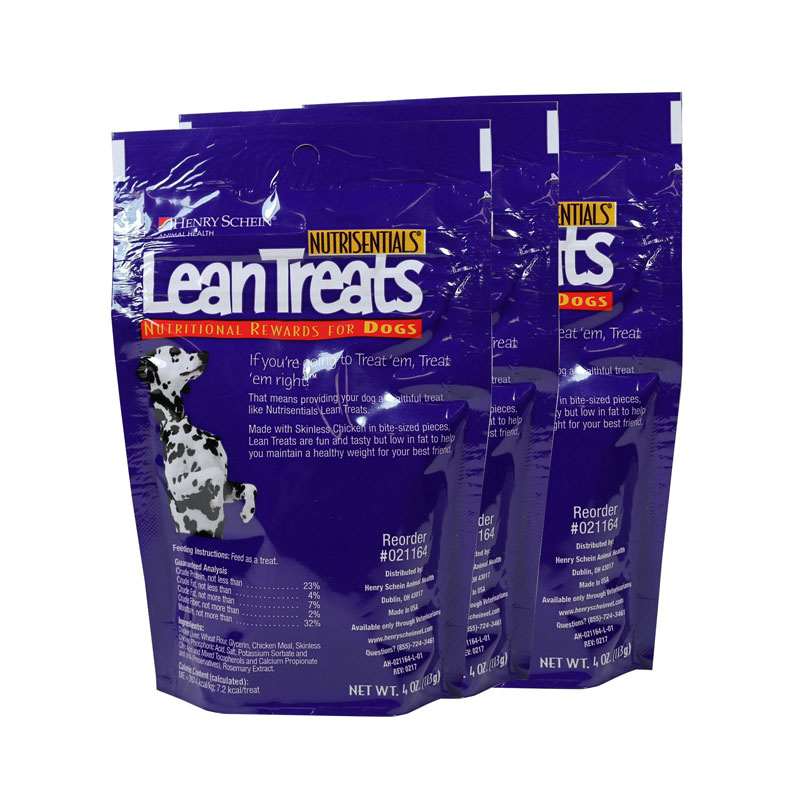 Nutrisentials Lean Treats For Dogs 4oz Bag Pack of 3