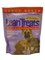 Nutrisentials Lean Treats For Large Dogs 10oz Bag