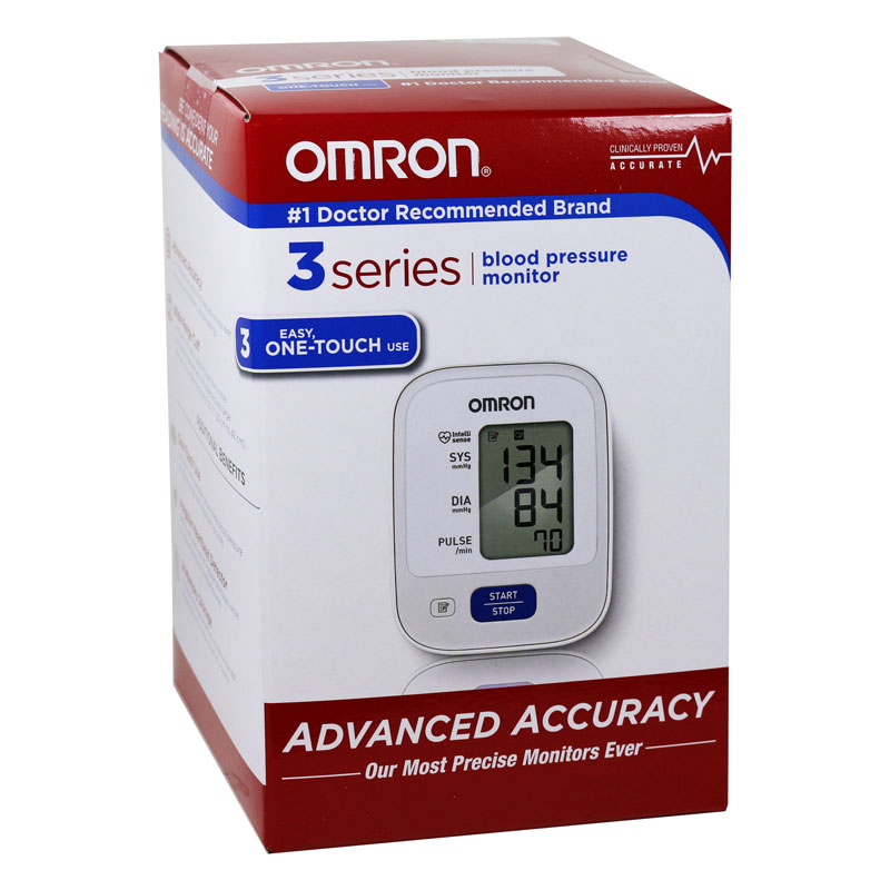 Omron 3 Series Upper Arm Blood Pressure Monitor BP710N
