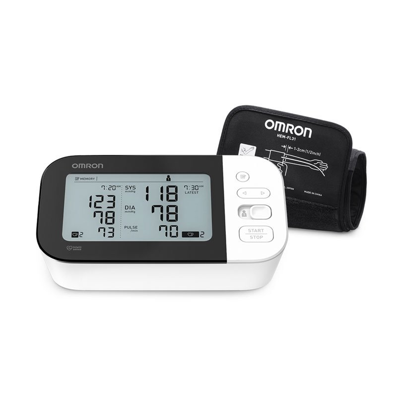 Omron 7 Series Bluetooth Upper Arm Blood Pressure Monitor BP7350