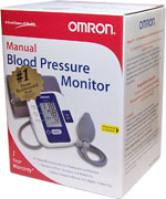 Omron Manual Blood Pressure Monitor HEM-432C